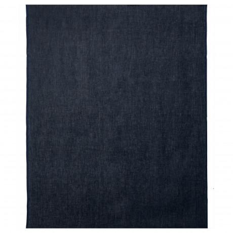 Ткань АЙНА темно-синий фото 0