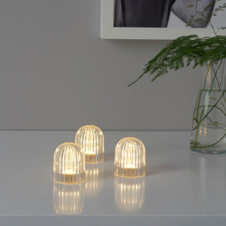 Декоративная подсветка, светодиоды АКТИВЕРЭД с батарейным питанием, прозрачный фото 0